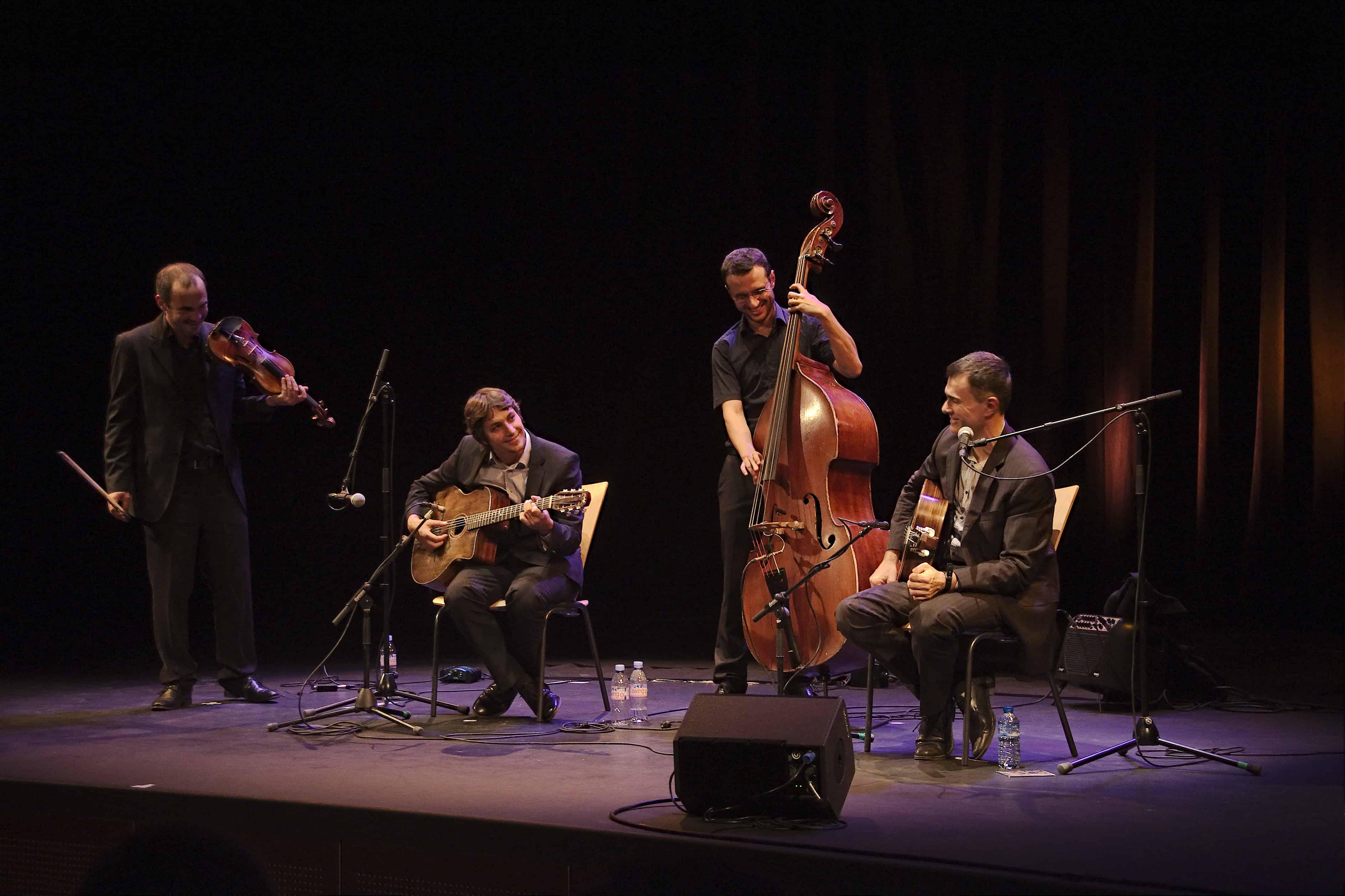 Quartet de Swing Manouche en concert